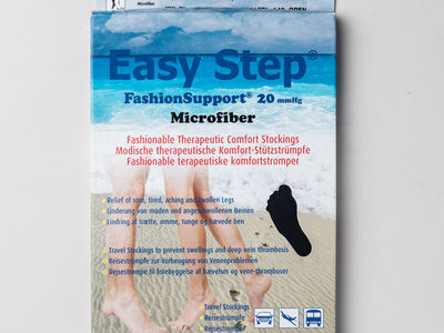 Easy Step Fashion Support microfiber 140 den 20mmHg